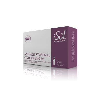 ISO.OXI.300CF - ANTI-AGE STAMINAL OXYGEN SERUM (10 Strip da 10ml